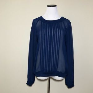 NWT Anthropologie Ainsy Sheer Blouse